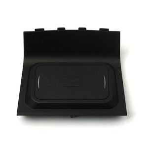 Image 4 - For Changan CS55 CS75 10w car wireless qi charger wireless mobile phone charger fast charging plate phone holder accessories