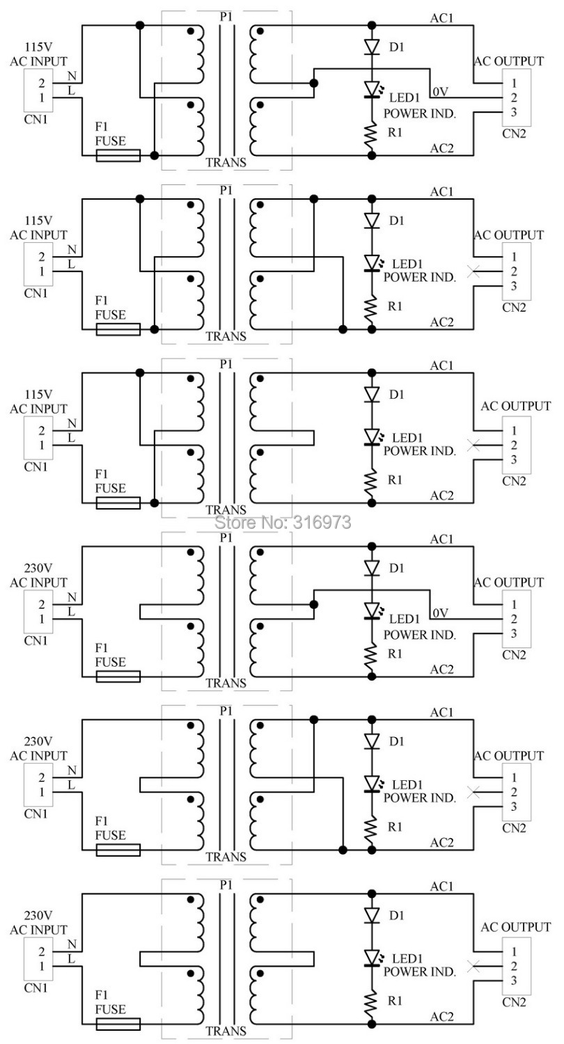 Primary 115vac Secondary 9vac 20va Power Transformer Module D 45 Kva Wiring Diagram 1033 A Ac9v In Electronics Stocks From Electronic Components Supplies On