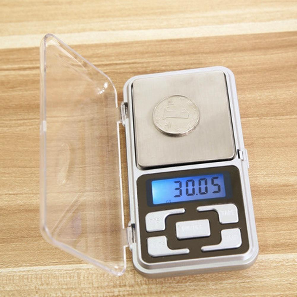 Libra Jewelery Scales with 100g/200g/300g/500g LCD Portable Electronic Digital Scale Pocket Diamond Balance Weight Backlight цена