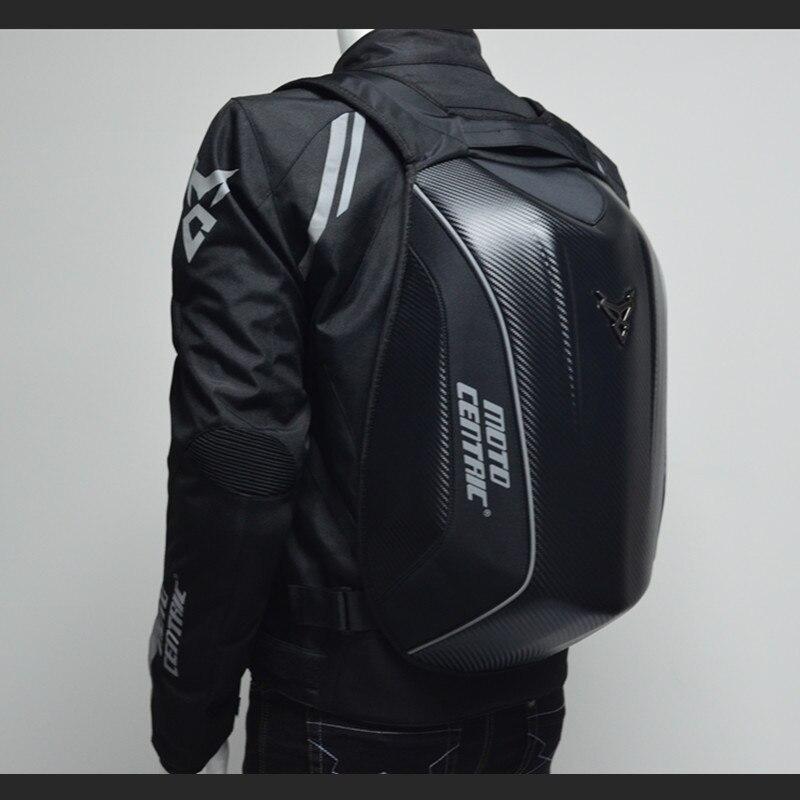 Sac à dos moto en fibre de carbone sac à dos pour hommes sac à dos étanche pour hommes sac à dos pour ordinateur portable sac à bandoulière mochila mujer sac