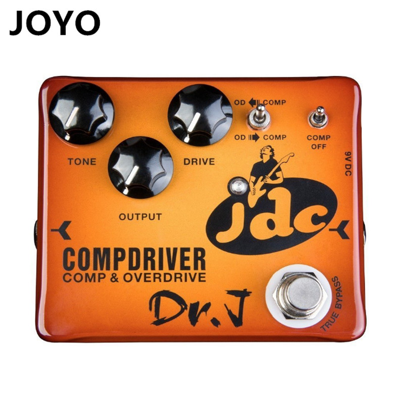 Dr. J Compdriver JDC Jose de Castro Signature Compressor plus Overdrive Effect Hand Made Electric Guitar Effect Pedal evans v dooley j enterprise plus grammar pre intermediate