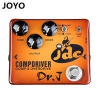 Dr J Compdriver JDC Jose De Castro Signature Compressor Plus Overdrive Effect Hand Made Electric Guitar