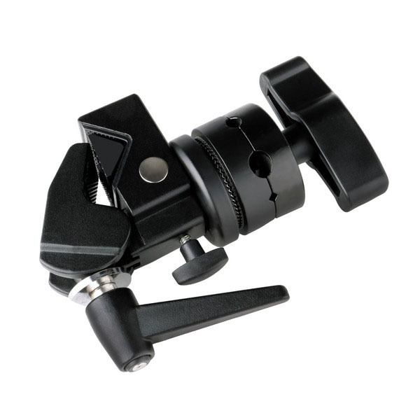 ФОТО High-Quality LP-035 Grip Gobo Head With Super Clamp For Light Modifier Flag Scrim Cutter Cake Clip Reflective Umbrella Plate Mou