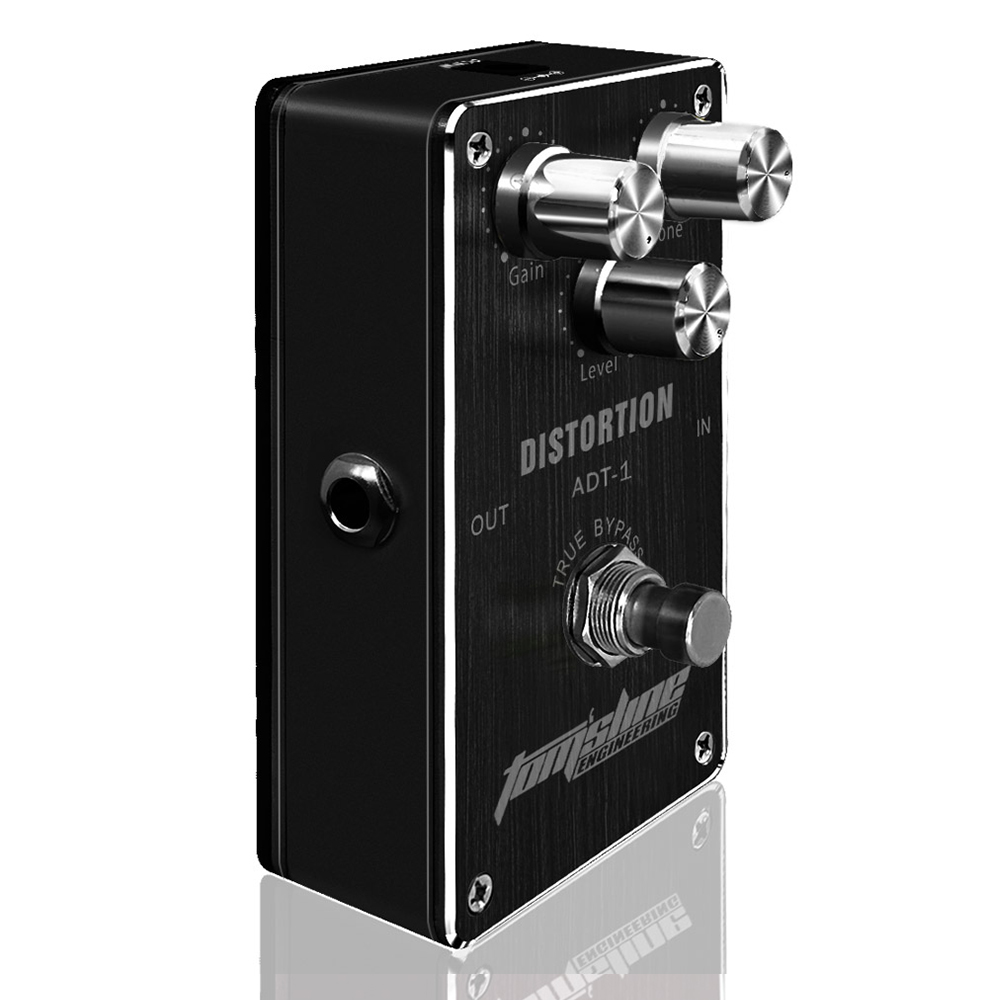 AROMA ADT-1 Distortion Premium Analogue Electric Guitar Effect Pedal True Bypass new aroma adr 3 dumbler dumble amp sound overdrive mini analogue effect true bypass