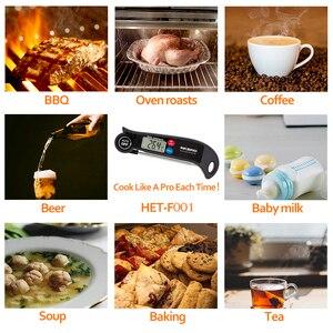 Image 3 - Inkbird HET F001 Meat Thermometer Digital BBQ Thermometer Electronic Cooking Food Thermometer Probe Water Milk Kitchen Oven Tool