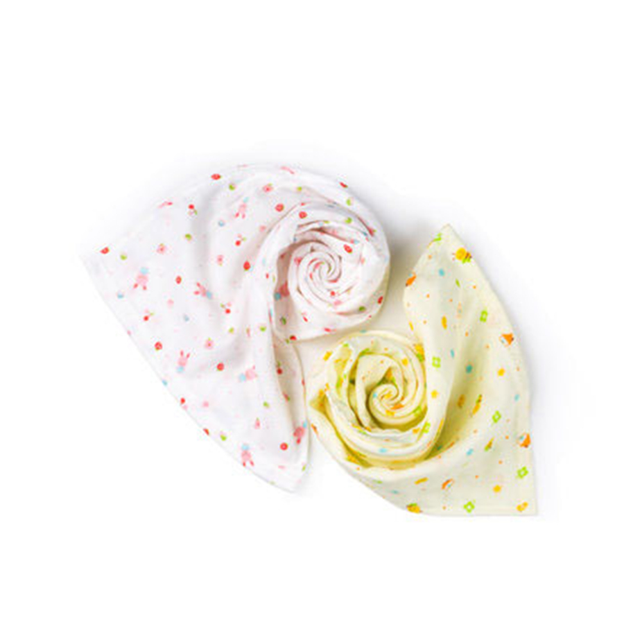 Cute Cotton Newborn Baby Towels Washcloth Small High Quality Newborn Hand Wipes Baby Face Towel Square 70A0010