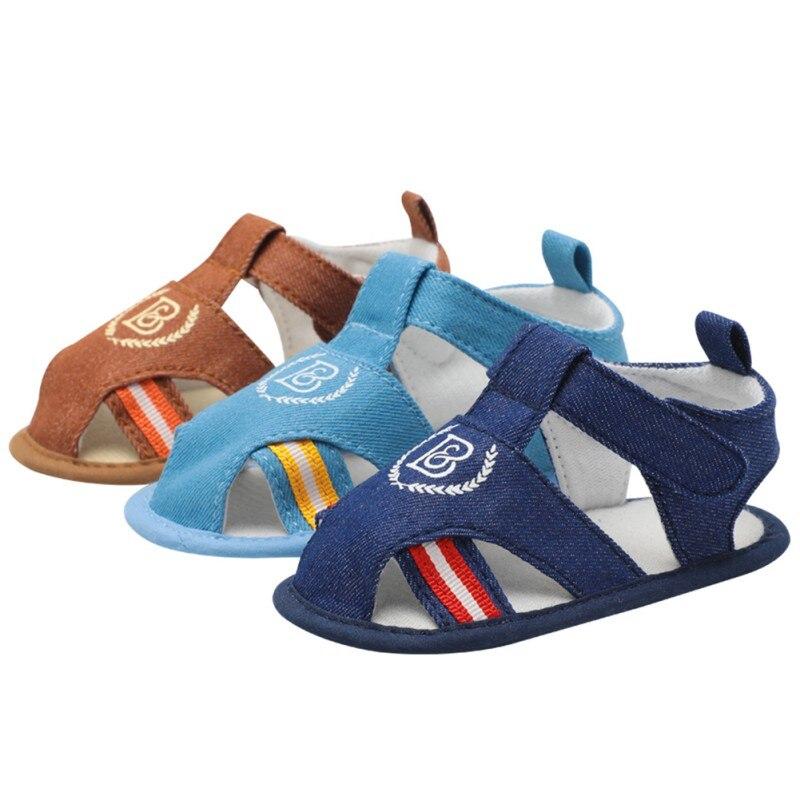 2018 Sommer Stil, Mode, Anker Baby Jungen Schuhe Infant Kleinkind Schuhe Weiche Sohle Indoor Klettern Schuhe 6 Stil Baby Junge Sandalen M