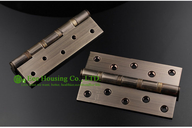 5 Inches Door Hinge With Antique Brass Finished, Door Hardware For Sale,304  Stainless