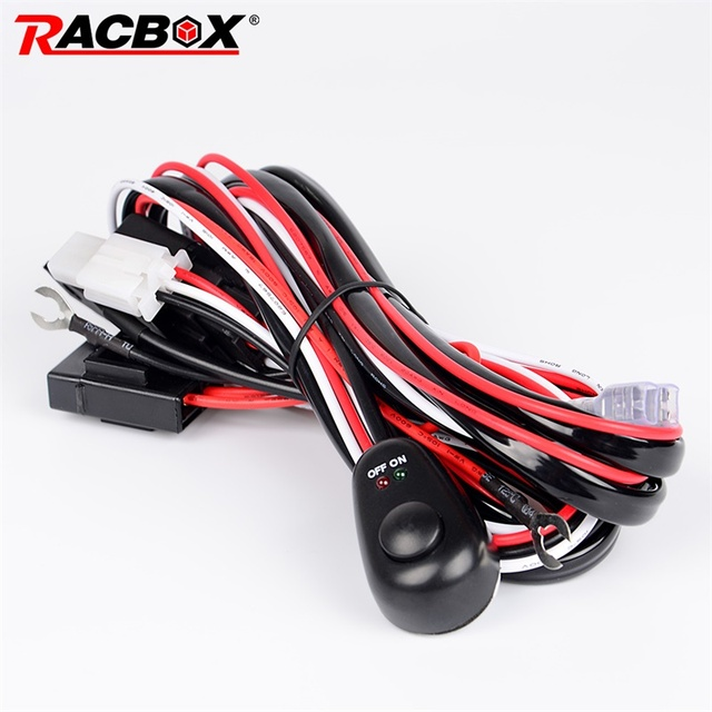 RACBOX 2 Meter 12 V 40A Offroad Fahren Led lampe Extention Draht ...