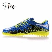 Yangınlar büyük boy Erkek/Boy/Çocuk Açık Cleats Futbol Futbol Ayakkabı Yumuşak Groud Sneakers Eğitmenler Yeni Tasarım futbol ayakkabı