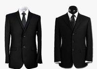 2018 высокое качество blackmen Тонкий Корейской женат три кнопки деловой костюм мужской наборы по Западной Платье