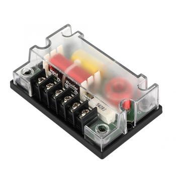 Głośnik 2 sposób Car Audio dzielnik częstotliwości głośnik filtr dźwięku akcesoria samochodowe parlantes para Auto tanie i dobre opinie Częstotliwość-oddzielenie filtry VGEBY 12 v Car Audio Frequency Divider Speaker 151g ABS+ electronic components Volkswagen