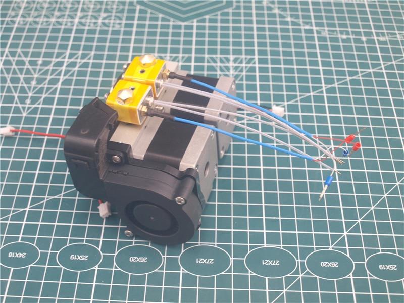 Conjunto 1 Dreame Flashforge Extrusora kit de montagem 1.75 milímetros