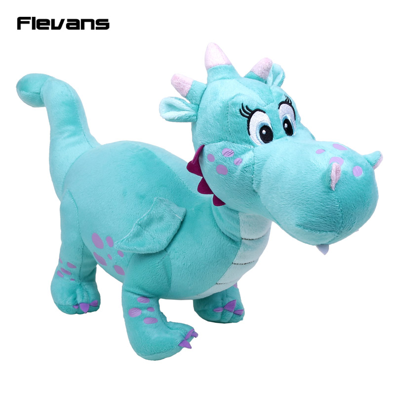 Princess Sofia the First Crackle Dragon Dinosaur Plush Toy Soft Stuffed Animals Dolls Baby Toys Gifts 43cm baby s first baby animals