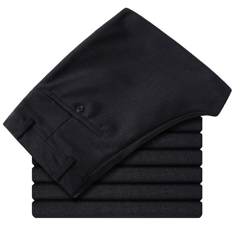 2020 Chun Xia, Thin Man Business High Waist Pants Casual Pants Straight Dress Trousers