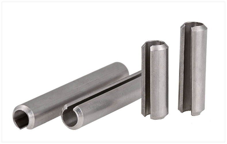 GB879 304 stainless steel spring pin cylindrical elastic pin positioning pin M5 M6 M8 opening pin for screw 14pcs m6 m6 25 6x25 304 stainless steel split cotter spring pin parallel dowel pins