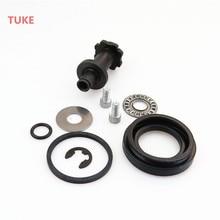 Best price TUKE 6 Teeth Hand Brake Motor Caliper Servo Connection Screw Repair Components For VW TIGUAN SHARAN PASSAT CC B6 A4 A6 32326315