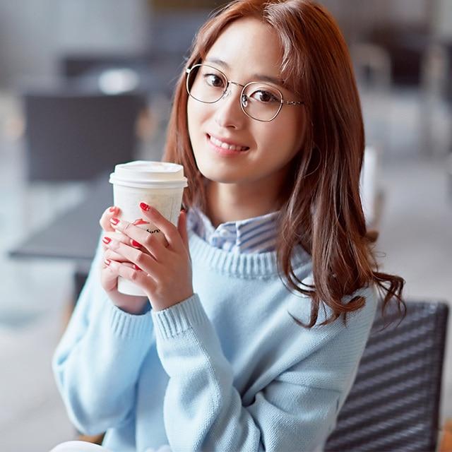 89b9c8d4e 2017 Ultraligero anteojos hembra marco espejo plano gafas chica marea  Coreana vintage marco de los vidrios