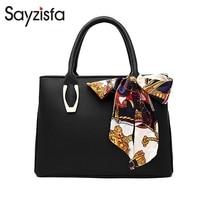 Sayzisfa 2018 new female bag butterfly festival silk towel handbag fashion style elegant and comfortable casual simplicity T565
