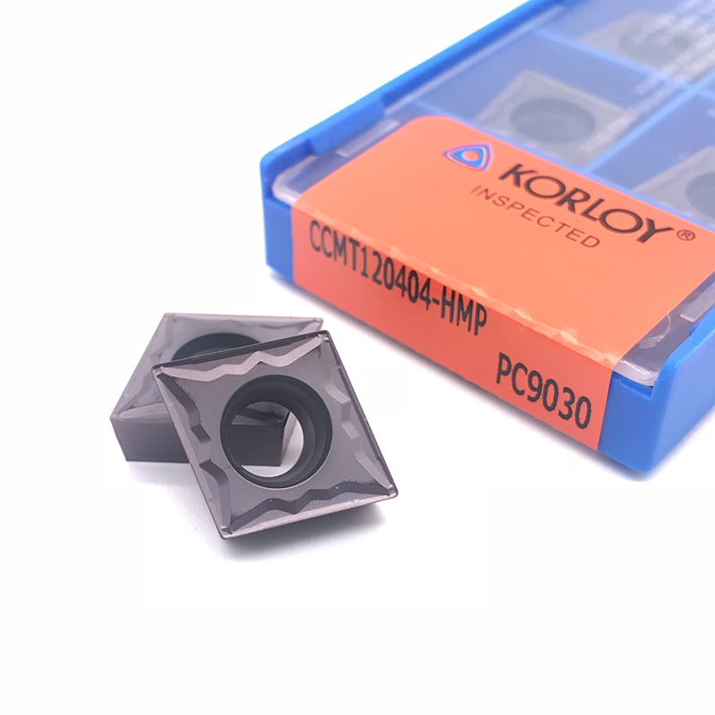 Original CCMT060204 CCMT09T304 CCMT09T308 CCMT120404 CCMT120408 Internal Turning Tool Carbide Insert For Stainless Steel