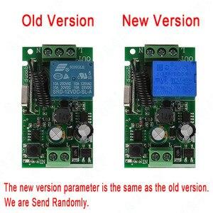 Image 2 - QIACHIP 433 MHz אלחוטי שלט רחוק מתג AC 85V 110V 220V 1CH ממסר 433 MHz למידה מקלט מודול אור מנורת בקר