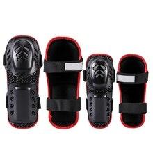 цена на 4pcs Elbow Knee Sleeve Pad Breathable Adjustable EVA PE Shell Arm Leg tective Guard tector Outdoor Cycling Roller Skat