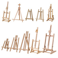 Mini Easel Caballete De Pintura Kids Artist Oil Easel for Painting Wooden Easel Stand Mini Drawing Table Painting Accessories