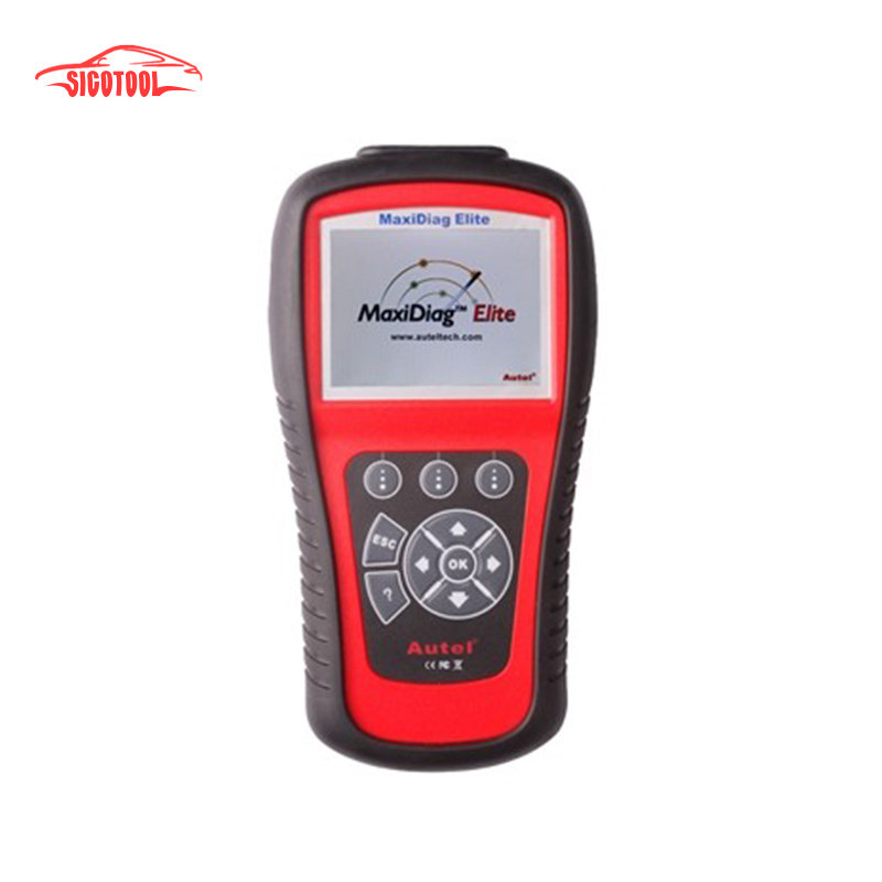Autel Maxidiag Elite MD701Code Scanner With Data Stream Function Asia Vehicles for 4 System Update Online autel md801 pro 4 in 1 code scanner jp701 eu702 us703 fr704 maxidiag pro md 801 code reader