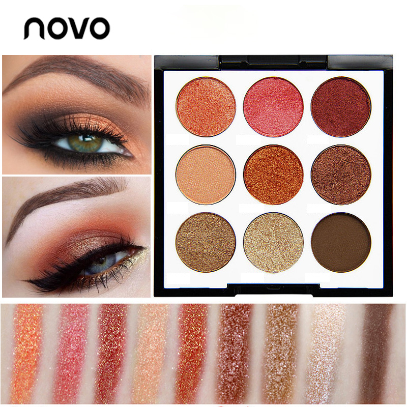 Eye Shadow Lovely Eyeshadow Pallete High Pigmented Earth Color Matte Glitter Naked Make Up Eyeshadow