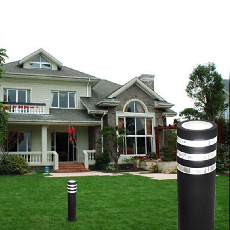 80pcs/lot led garden Lawn lamp lights AC85-265V yard lights led street outdoor light Landscape Aluminum waterproof  HQ-5009