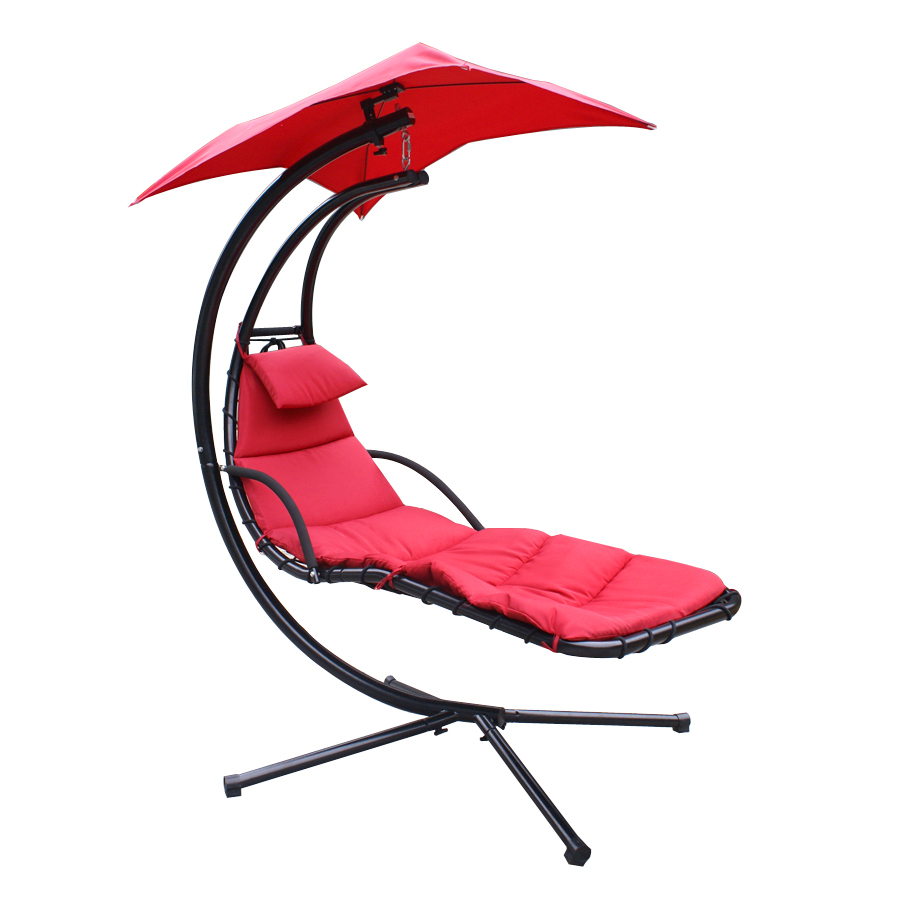 Hammock Chair With Canopy Covers For Rent Dallas Tx Chaise Lounger Hanging Arc Stand Air Porch Swing Teal In Hammocks From Furniture On Aliexpress Com Alibaba Group