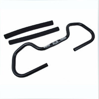 MEROCA 25.4 590mm MTB Mountain Bikes Road Bicycles Butterfly Handlebar