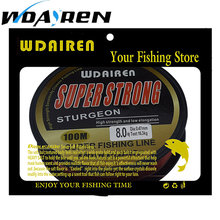WDAIREN 100M Fluorocarbon Fishing Line red/clear two colors 4-32LB Carbon Fiber Leader Line fly fishing line pesca FA-476