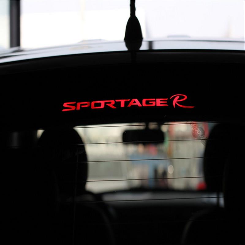 Автомобильные аксессуары стоп светильник углеродное волокно