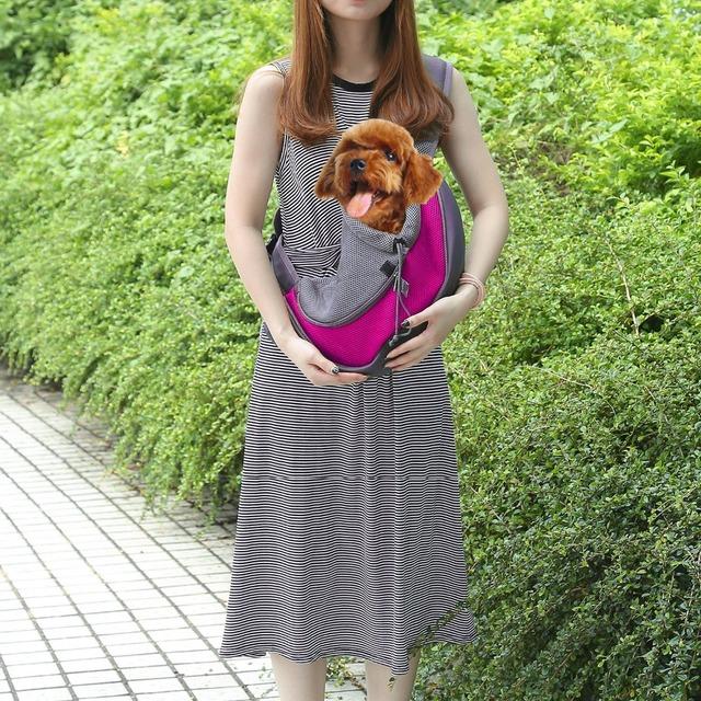 Single Shoulder Multicolor Dog Carriers