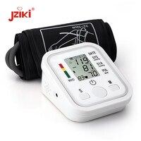 JZIKI Digital Upper Arm Blood Pressure Pulse Monitors Tonometer Portable Health Bp Blood Pressure Monitor Meter