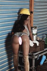 Image 3 - 163cm בתוספת # אנה TPE עם מתכת שלד מין בובות נדל און vajina אהבת בובות זכר בובות מין נשים נרתיק מציאותית