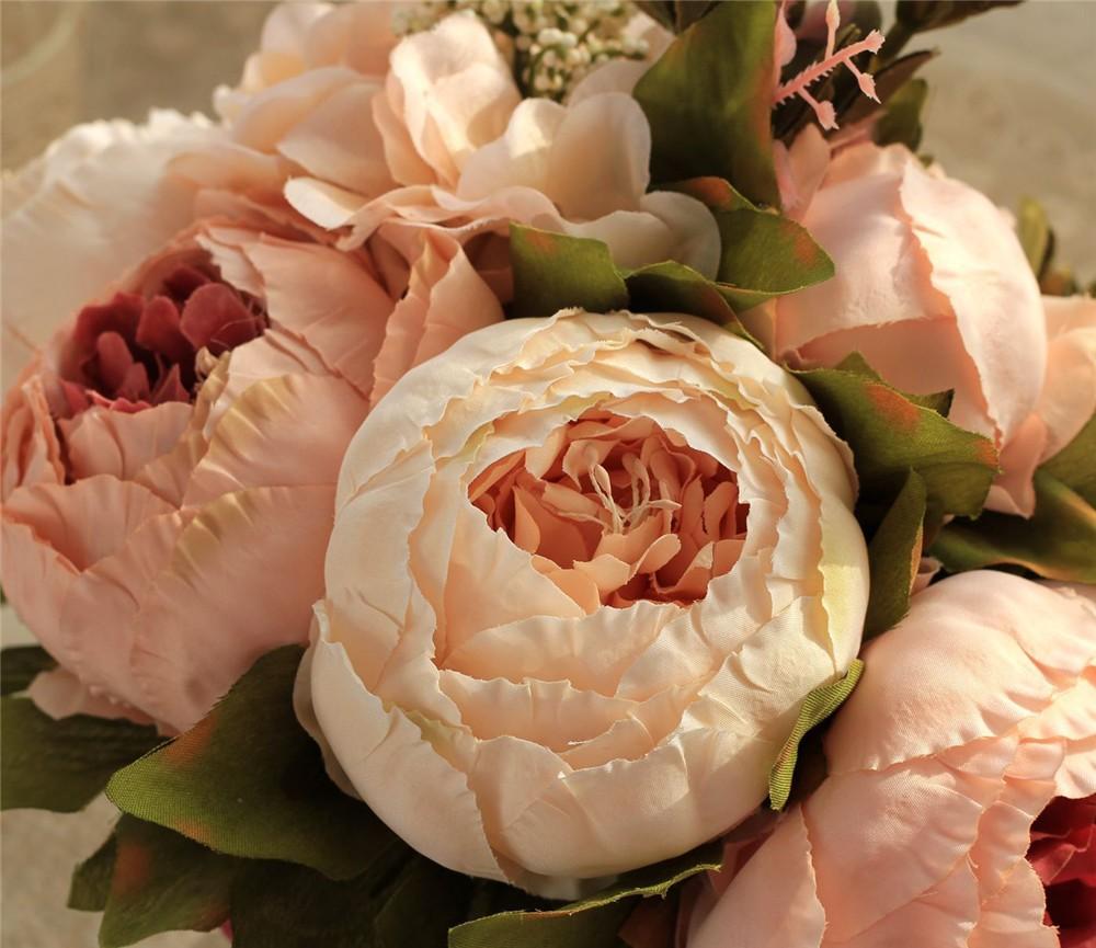 Artificial flower Wedding Bouquet Bouquet Bridal Bouquet Bridesmaid Wedding Decoration Event Party Supplies buques de noivas (11)