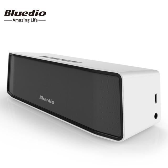 Bs-2 bluedio mini speaker portátil sem fio bluetooth speaker música sistema de som 3d estéreo surround