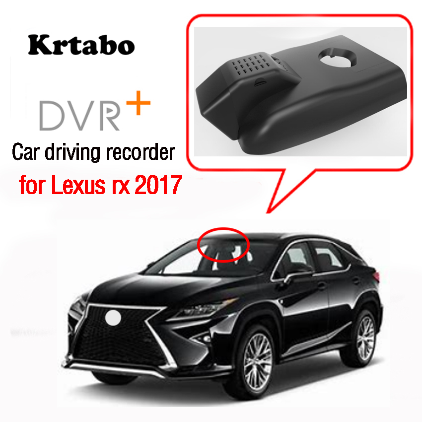 New <font><b>car</b></font> driving recorder for <font><b>Lexus</b></font> rx 2017 <font><b>DVR</b></font> Wifi Video Recorder Dash Cam Camera high quality Night vision full hd image