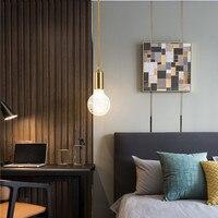 Modern Carved Glass LED Chandelier Lighting for Living Room Nordic Fashion Hanglamp Cafe Bar Decoration LED Light Fixtures