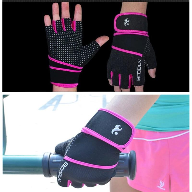 Hohe Qualität Frauen Gym Bodybuilding Training Fitness Handschuhe - Fitness und Bodybuilding - Foto 5
