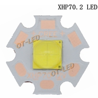 1PCS 2017 Newest High Power Cree XHP70 2 White 6500K Neutral White 5000K LED Emitter With