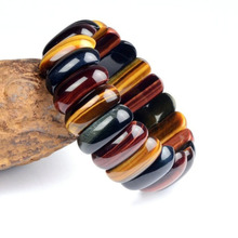 Tiger Eye Love Buddha Bracelets for men