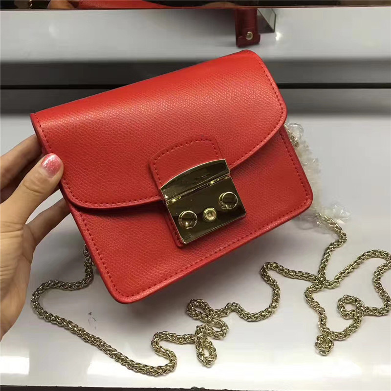 Women Bag Handbags Famous Brands Designer Real Leather High Quality Small Women's Flap Bags Ladies Casual Chain Crossbody Sac