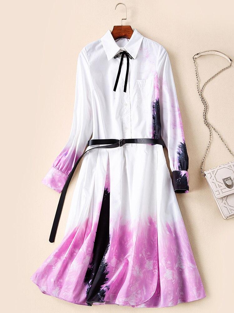 Nouvelle Femmes De Européenne Robe 2019 Qualité Printemps Style Ws03492 Luxe Mode Partie Marque Supérieure Design t0xYwvqnB5