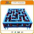 10*8*2 mH надувная площадка puzzel игры, гигантский крытый или открытый надувной лабиринт