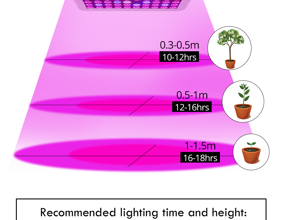 300W Full Spectrum LED Plant Grow Light Lamp For Plant Indoor Nursery Flower Fruit Veg Hydroponics System Grow Tent Fitolampy (8)