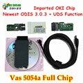 Новый OKI Полный Чип VAS 5054A VAS5054A Питание Для V3.0.3 С UDS Протокола VAS5054 ODIS Bluetooth Нескольких Языков VAS 5054