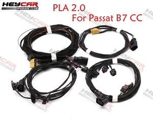Передняя и задняя автомобильная Система помощи при парковке от 0 к до 12 к PLA 2,0 обновленный провод OPS для установки Passat B7 CC